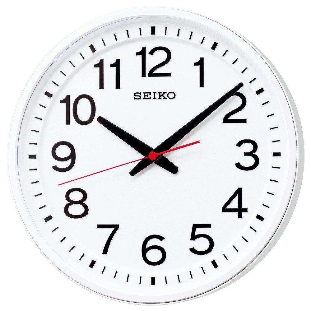 セイコー クロック 掛け時計 電波 アナログ 白 KX236W SEIKO B077JSLC4C 電波クロック
