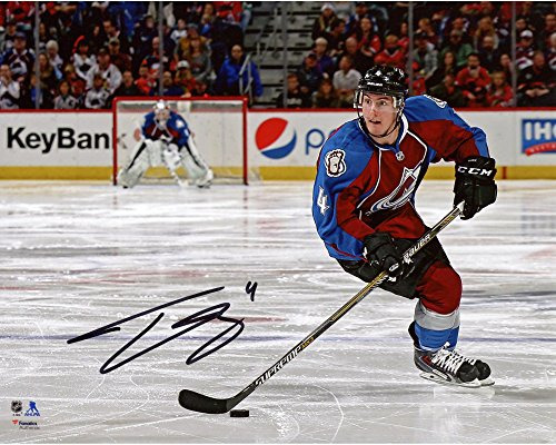 """Tyson Barrie Colorado Avalanche Autographed 8"""" x 10"""" Horizontal Skating With Puck Photograph - Fanatics Authentic Certified"""