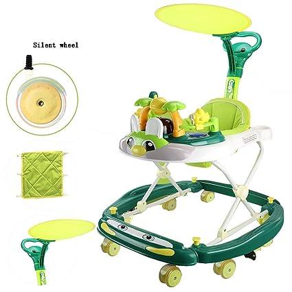 Amazon.com: YUMEIGE - Andador para niños con toldo, 4 ...