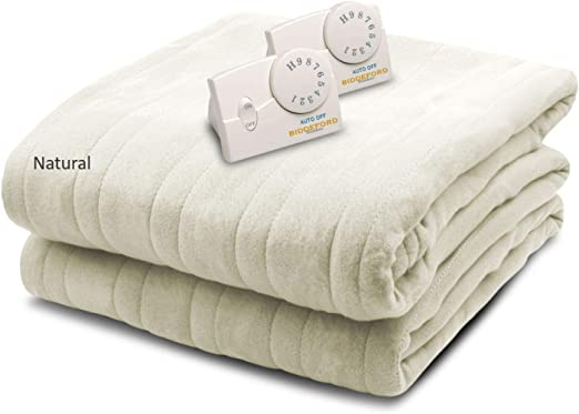 Amazon.com: Biddeford Blankets Comfort Knit Electric Heated