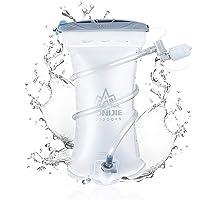 AONIJIE ハイドレーション 給水リザーバー 広口 水袋 漏水防止 水分補給 防災用 1.5L ハイキング 登山 サイクリング ランニング アウトドア