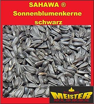 Girasol Semillas Negro 10 kg, invierno pájaro Forro para freilebende Pájaros