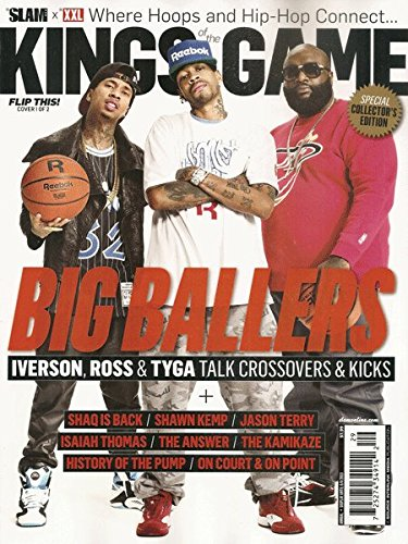 XXL / SLAM Magazine (April 2013) Tyga, Rick Ross, Allen Iverson (Kings of the Game) Collector