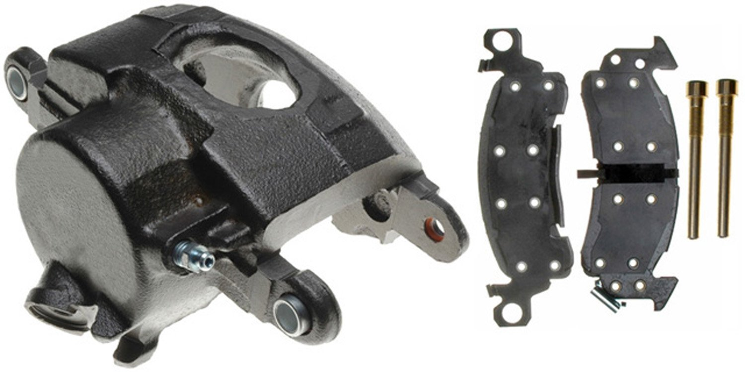 ACDelco 18R624 Professional Durastop Front Driver Side Disc Brake Caliper Assembly with Pads (Loaded), Remanufactured