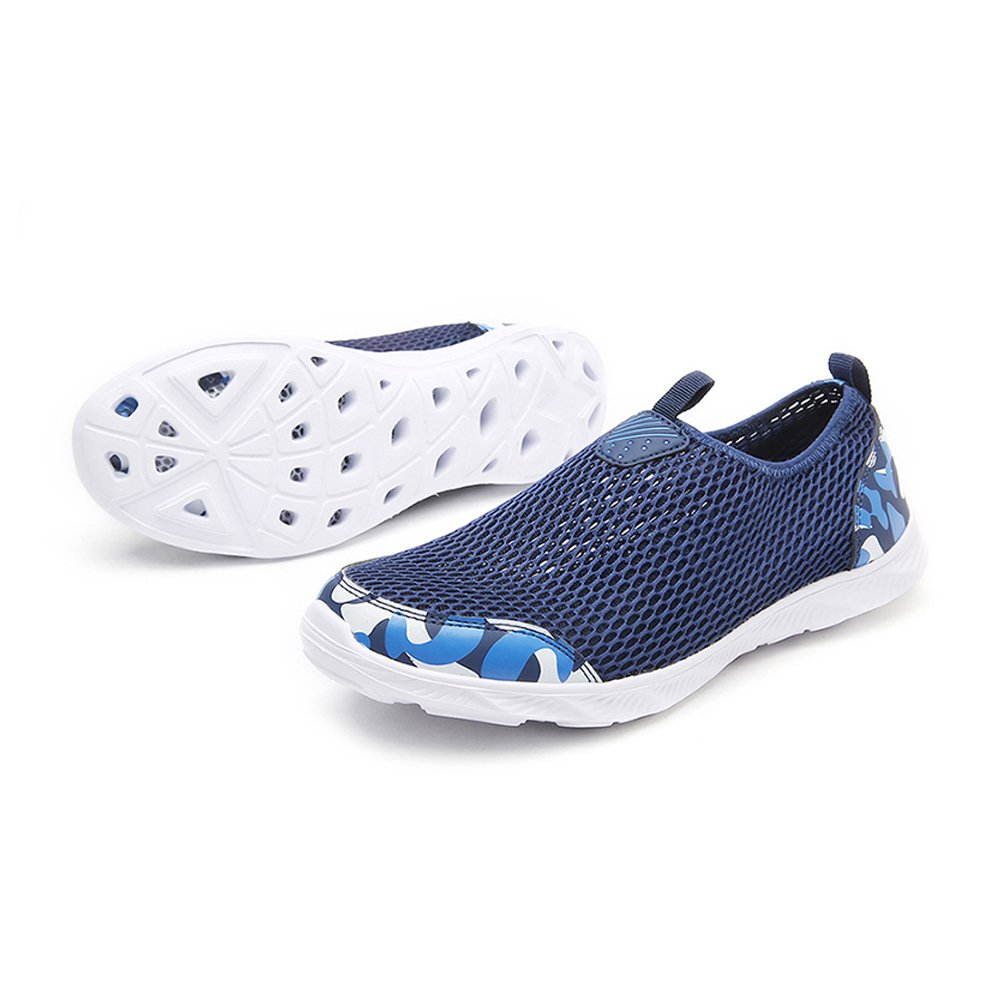 Mu Yangren Mesh Slip On Water Shoes, Lightweight Breathable Quick Dry Casual Shoes for Beach Pool Walking B079NJDR3Y 10.5 D(M) US / EU 41|Blue