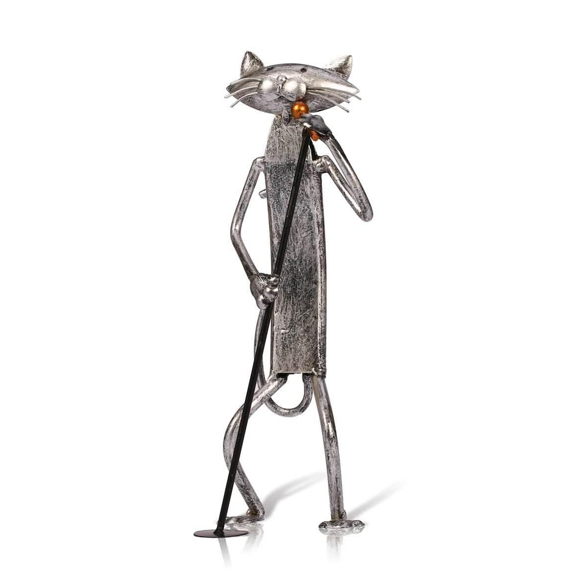 Figura decorativa gato