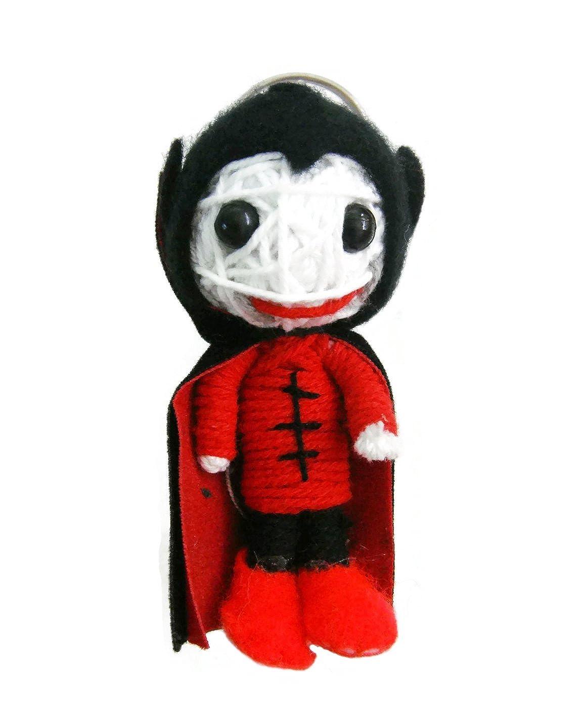 Amazon.com: Drácula Zombies Vampire Voodoo llavero de cuerda ...