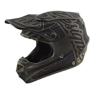 2018 Troy Lee Designs SE4 Polyacrylite Factory Helmet-Gray-XS