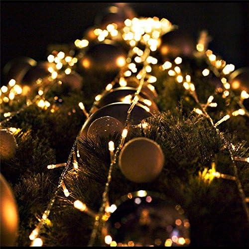Hengda LED Eisregen Lichternetz Lichterkette Wasserdicht f/ür Wedding 8 Funktiontyp Memory 600 leds 60m 31v Weihnachtslichterkette