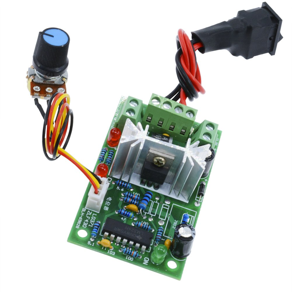 6 30v Dc Motor Speed Controller Reversible Pwm Control Forward Simple Controlled To Cell Phone Charger Circuit Science Reverse Switch Industrial Scientific