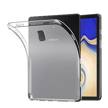 Lobwerk Carcasa para Samsung Galaxy Tab S4 SM de T830/SM de T835 10.5 Pulgadas Funda Slim Case Cover Ultrafina antigolpes Transparente