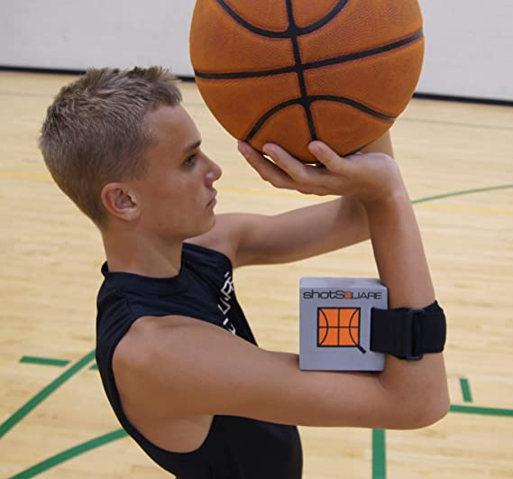 #1 Innovo Sports: ShotSquare Basketball Training Shooting Aid, Perfect Release & Rotation