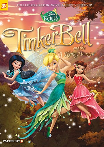 Disney Fairies #19: Tinker Bell and the Flying Monster