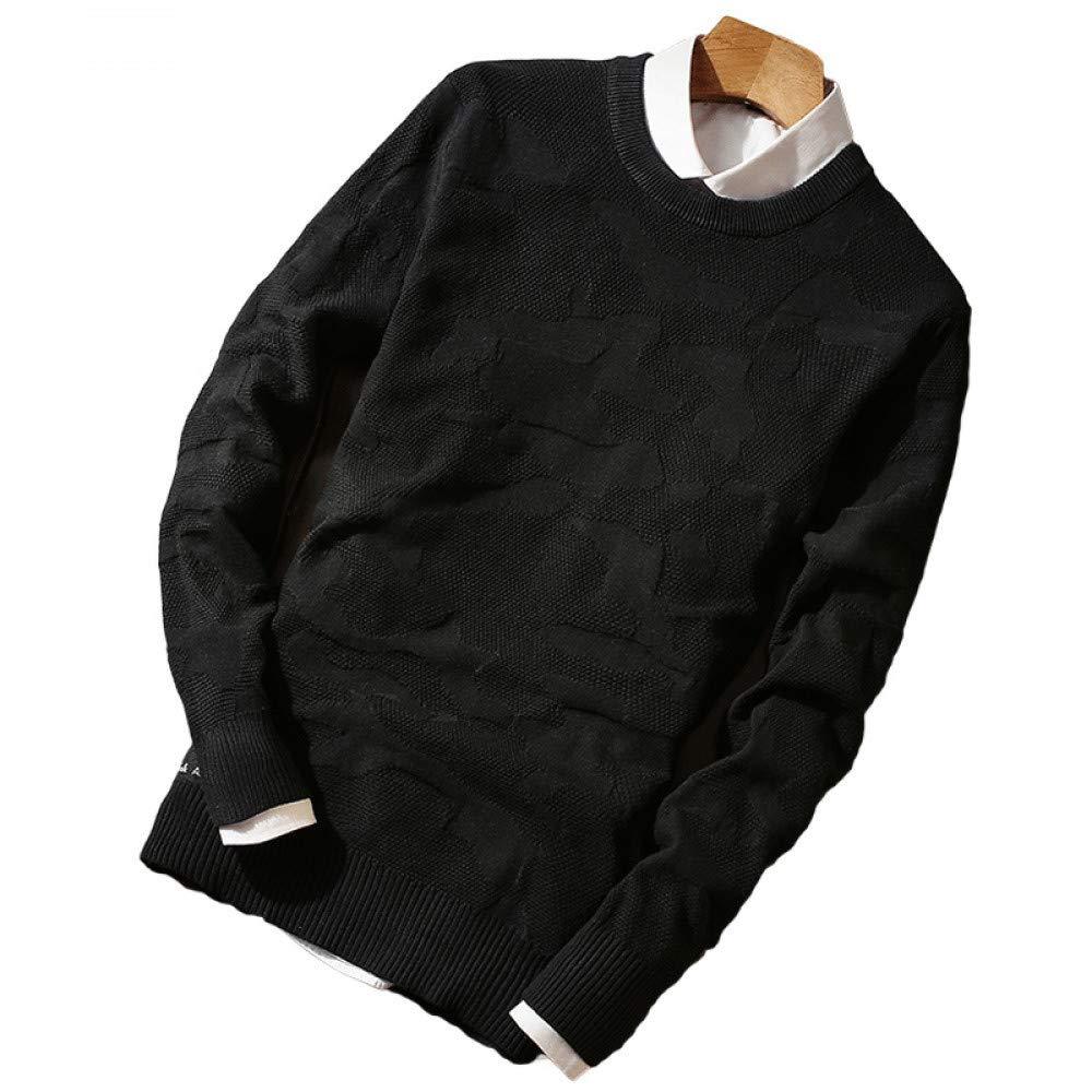 FEIDAO Männer Pullover Winter Dünnschnitt Rundhals Mann Pullover   S Ml 2XL 3XL Blau Grau Grün Schwarz Schlank Und Bequem Herren Pullover