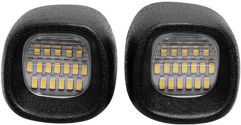 2X License Plate Light Rear Lamp LED for Blazer S10 Pickup Jimmy S-15 Sonoma