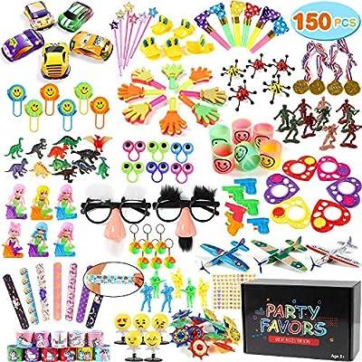 Tacobear 150piezas Juguetes de Fiesta Relleno Piñata Piñata Cumpleaños Artículos para Cumpleaños Niño Piñatas Regalo Premios de Aula Colegio ...