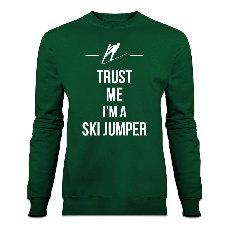 Trust Me I´m A Ski Jumper Sweatshirt by Shirtcity