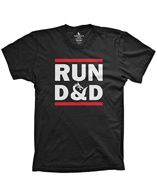 d2ca73b2 Run D&D Shirt Funny Tshirts Board Game dice Shirt | Amazon.com