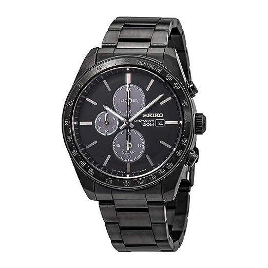 Seiko SSC721 - Reloj de Cuarzo con cronógrafo Solar para Hombre: Amazon.es: Relojes
