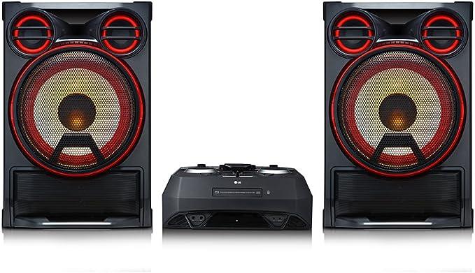 LG CK99 Minicadena de música para uso doméstico 5000W Negro, Rojo ...