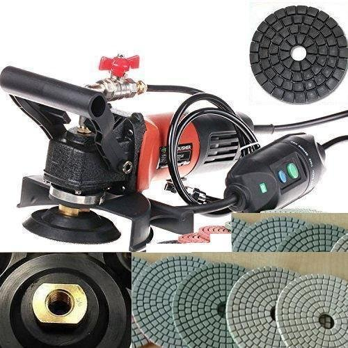 4-Inch to 5-Inch Variable Speed Wet Polisher and Grinder 4