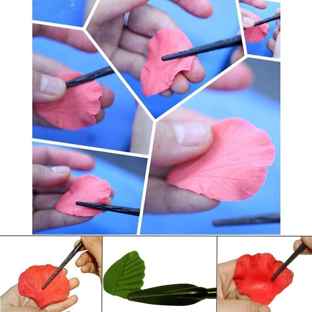 REFURBISHHOUSE Attrezzi per punzonare a Sfera 18 pz Strumenti per Modellare Le sculture di Clay Tools per la Scultura di Terracotta Painting Art Carving Modeling Embossing Sets