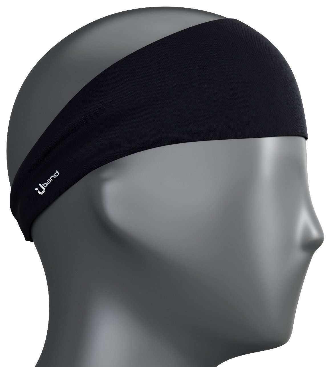 Self Pro Mens Headband - Guys Sweatband & Sports Headband for Running, Cross Training, Racquetball, Working Out - Performance Stretch & Moisture Wicking by Self Pro