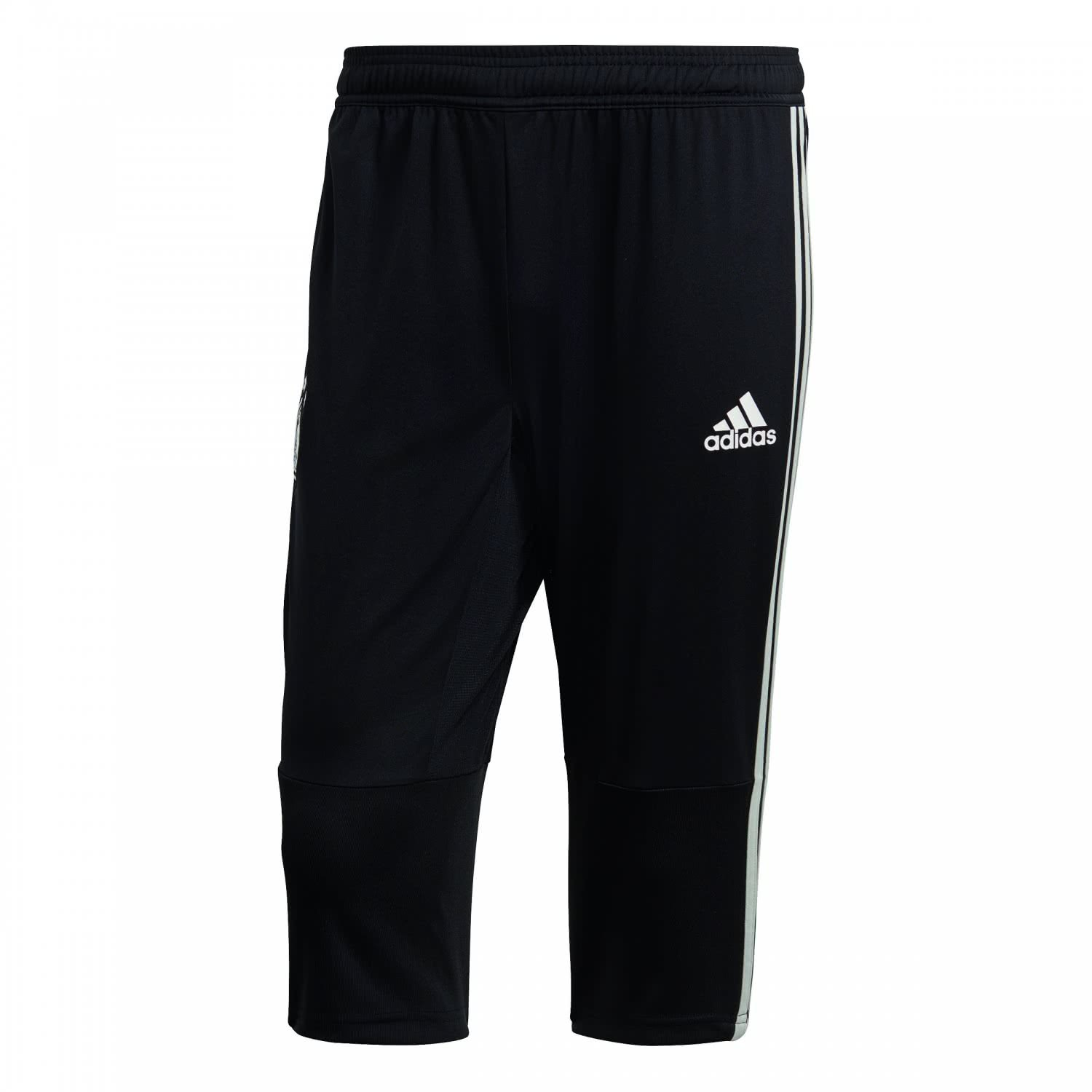 2018-2019 Germany Adidas 3/4 Length Training Pants (Black) B0778XGW9B Large 36