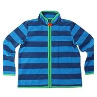 Bigood Children Boy Wool Warm Zip-up Cardigan Sweater Knitwear Blue