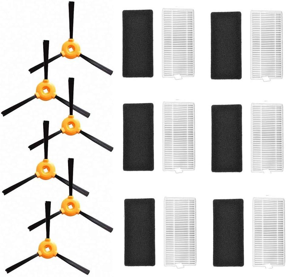 15 X Seitenbürste Filtersatz Für Slim DA60 Ecovacs-Deebot-Slim 2 Staubsauger