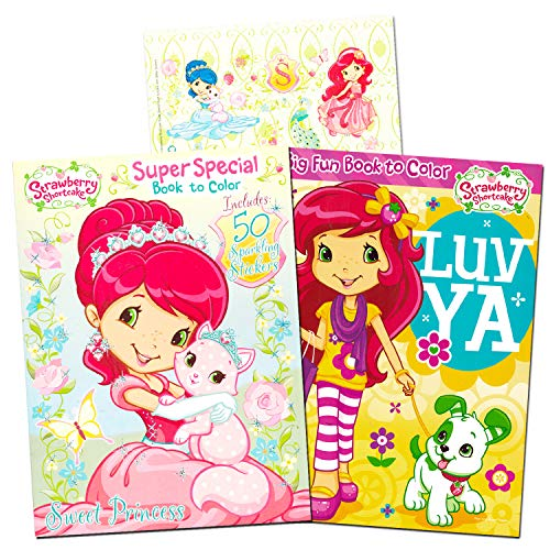 Strawberry Shortcake Coloring Book (Strawberry Shortcake Coloring Book Super Set -- 2 Jumbo Coloring Books With Over 100)