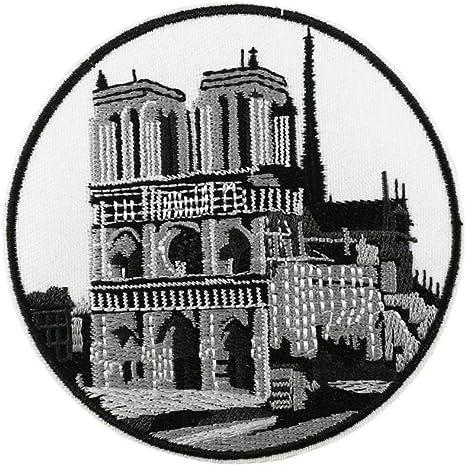Parche bordado de la Catedral de París de Notre Dame para planchar ...