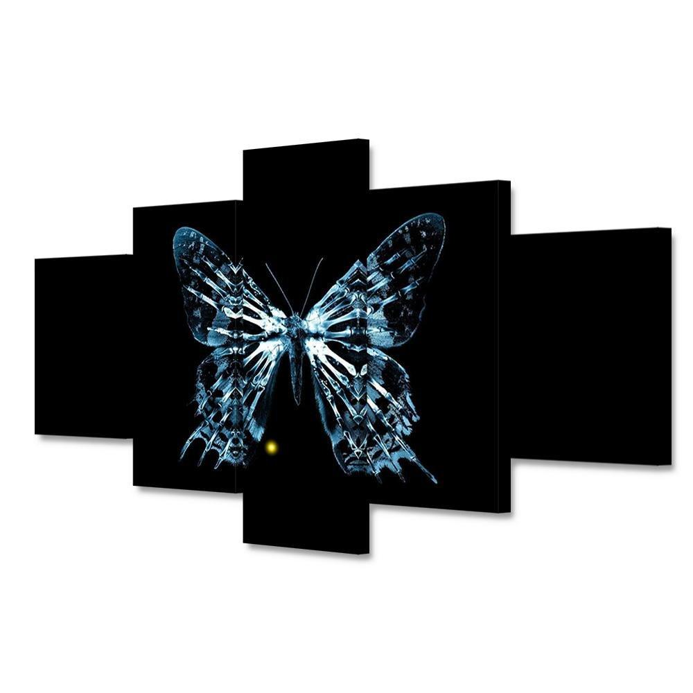 Giclée-Druck Extra große Leinwand Leinwand schwarz Schmetterling Poster HD Print Print Print dekorative Wandmalerei , With Borders , GrößeA B076P7PDKK   Spielzeugwelt, spielen Sie Ihre eigene Welt  ab31fd