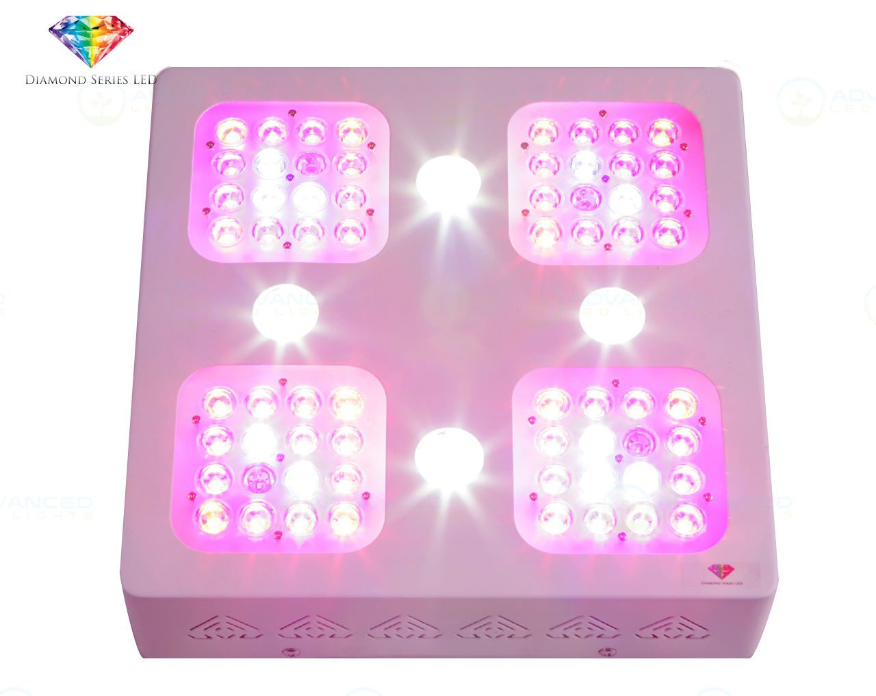 Advanced LED Lights - Full Spectrum LED Grow Light for Indoor Plants Vegs and Flowers - Diamond Series XML 150 With 10W CREE XML LEDs Amazon.com ...  sc 1 st  Amazon.com & Advanced LED Lights - Full Spectrum LED Grow Light for Indoor ... azcodes.com