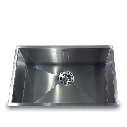 Nantucket Sinks ZR2818-16 28-Inch Pro Series Single Bowl Undermount ...