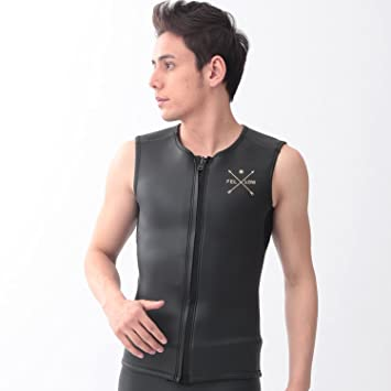 2mm classic smooth black VEST