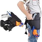 PAWACA Kids cintura Pierna Bolsa y pistolas de Kit de 2bandas de Wrister de dardos para Nerf N-Strike Elite serie Blaster, #2