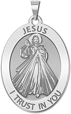 1 Inch Size of a Quarter in Sterling Silver Saint Matthew Religious Medal Color