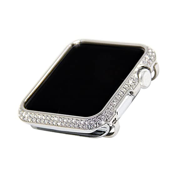 the latest 25084 95c43 Amazon.com: iRepair Sparkling Crystal Diamond Case Cover Bezel ...