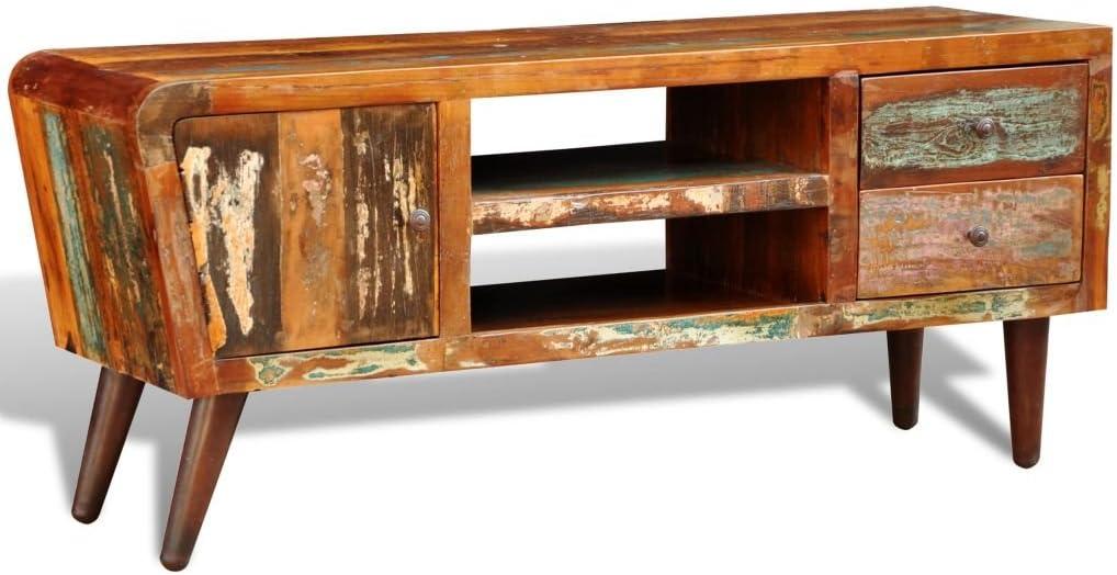 Weilandeal - Mueble de Madera para televisor (1 Puerta, 2 cajones, 145 x 45 x 62 cm): Amazon.es: Electrónica