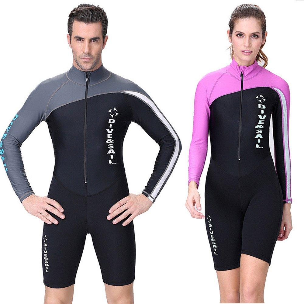 A Point Shorty Wetsuit Diving Suits Long-Sleeve Spring Suit Men//Women