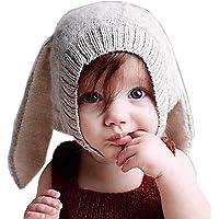 Tuopuda Cappello Invernale Bambino Neonato Cappello con Orecchie Cappello Pile Berretto Maglia