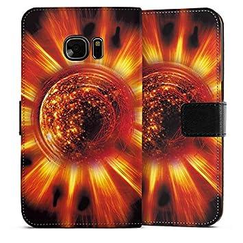 Carcasa Samsung Galaxy S2 Sun Sun Fire, Sideflip Bag ...