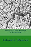img - for History of the Borough of Lewisham book / textbook / text book