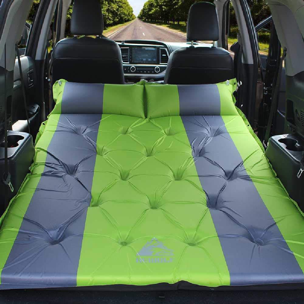 2 cm d 'épaisseur verte.  ZHJS Véhicule à lit Gonflable lit de Voyage lit de lit de lit de lit de lit Double Orange 5 cm épaisseur