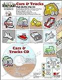 ScrapSMART - Cars & Trucks - Clip Art Software Collection - Jpeg & PDF files (CDCT75)