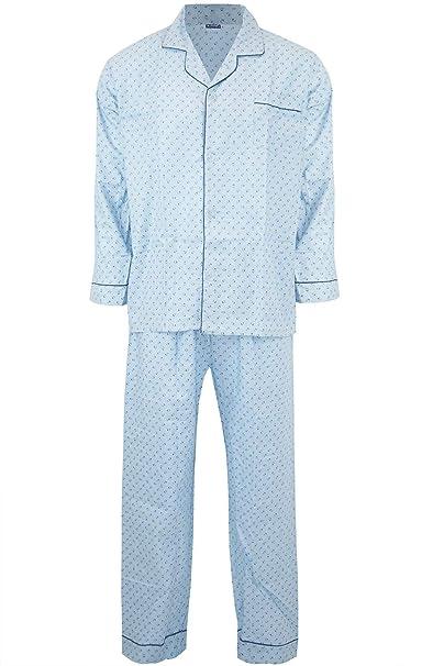 Amazon.com: Be Jealous Mens Pj Pyjamas Collared Cargo Front ...