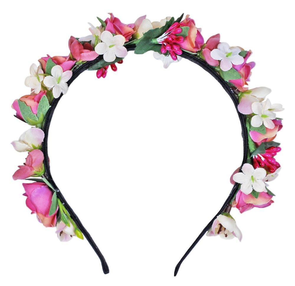 Blumen Haarreif Sabia - Bezaubernder Haarschmuck zum Dirndl, für Hochzeiten, Kommunion oder Festivals Trachtenland