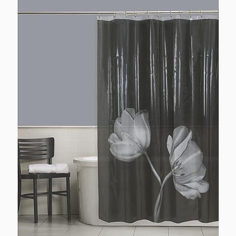 9d8efd747db Maytex Tulip Photoreal Vinyl PEVA Shower Curtain