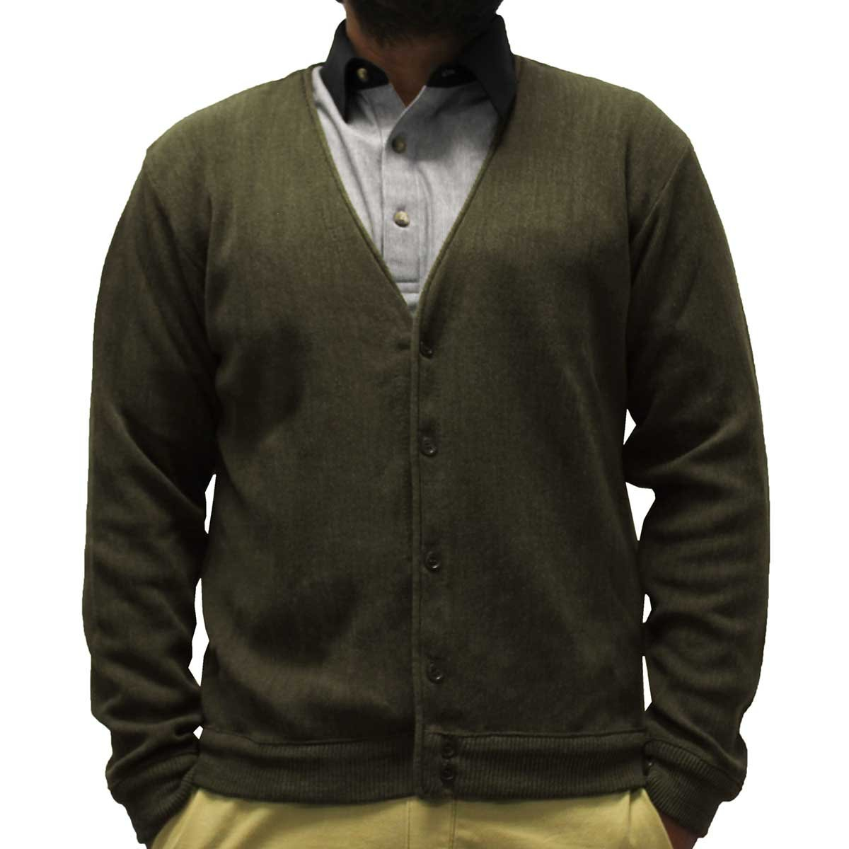 Classics By Palmland Men's L/S Links Cardigan Sweater 4000-37
